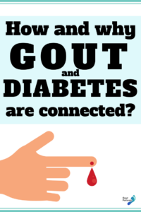 how and why gout and diabetes are connected