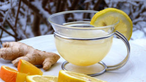 ginger tea and gout