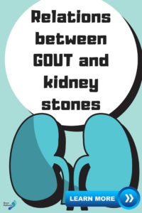 relations between gout and kidney stones