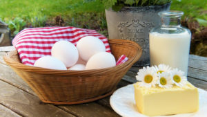 dairy products and eggs are high in saturated fat