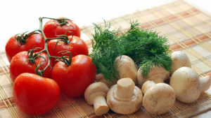 parsley for salads