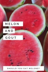 Melon and Gout