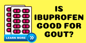 Is ibuprofen good for gout?