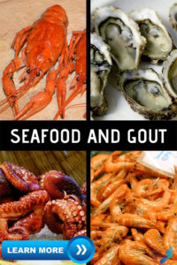 Seafood and gout