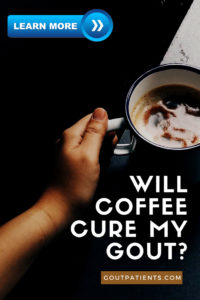 will coffee cure my gout?