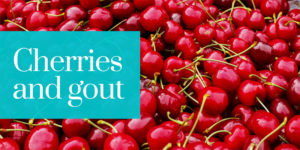 cherries and gout