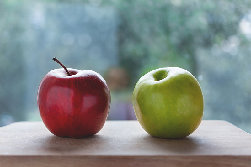 apples and gout