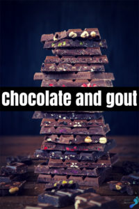 chocolate and gout