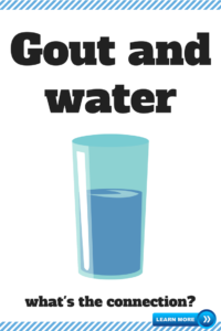 gout and water
