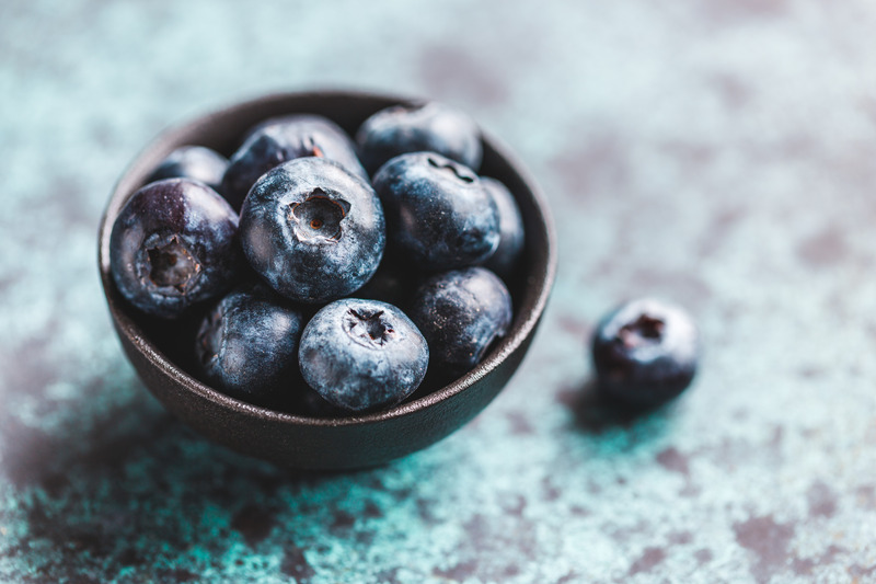 blueberries and gout