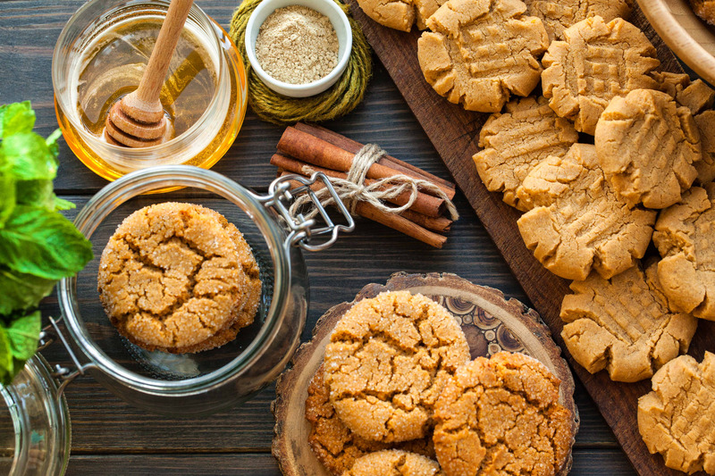 honey and cookies
