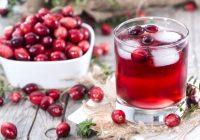 cranberry juice for gout