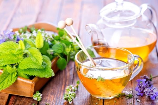 herbal tea for gout