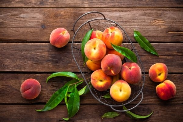 peaches and gout